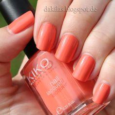 Dakila´s NailBlog - Kiko - 358 Peach Rose