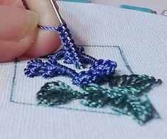 RosalieWakefield-Millefiori: The Donut Drizzle - A New Stitch Idea for Brazilian Dimensional Embroidery