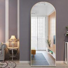 Full Length Mirror In Bedroom, Full Body Mirror, Long Mirror, Oversized Floor Mirror, Floor Length Mirrors, Large Floor Mirrors, Large Bedroom Mirror, Bedroom Mirrors, Bedroom Decor