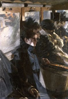The Athenaeum - The Omnibus (second version) (Anders Zorn - )