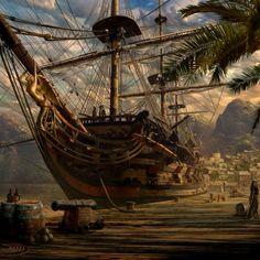 #pirate #ship