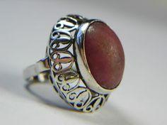 Gemstone Rings, Polish, Gemstones, Silver, Vintage, Jewelry, Vitreous Enamel, Jewlery, Money