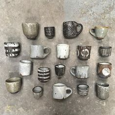 I'm headed to for the Pentaculum residency this week, immersed in a studio with interesting, talented strangers to… Ceramic Studio, Ceramic Clay, Pottery Mugs, Ceramic Pottery, Earthenware, Stoneware, Ceramic Tableware, Tea Bowls, Natural Hair