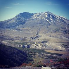 Beautiful Mt. St. Helens on a clear sunny morning!