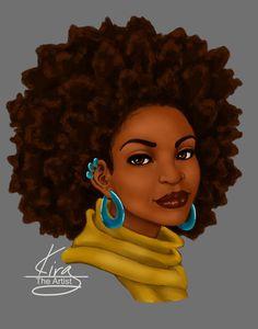 pintanya denny on fro art  natural hair art hair art