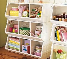 Leaf And Letter Handmade: Pottery Barn Kids Esque Toy Storage. PLayrooms  Storage To Make