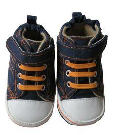 Infant Toddler Boy's Navy Sneaker Shoe AccessoWear. $7.99