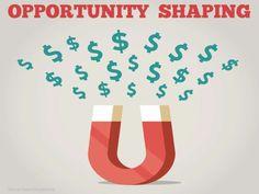 opportunity-shaping by Bruce Kasanoff via Slideshare