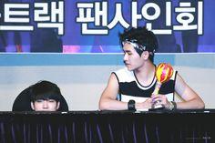 150725 #인피니트 Woohyun Hoya - Yeouido Fansign