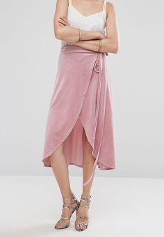 que es un personal shopper  -falda cruzada terciopelo