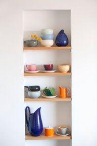 Recessed Shelves
