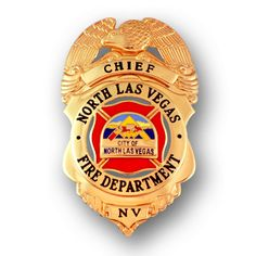 North Las Vegas Fire Badge
