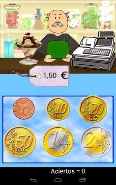 Este juego nos plantea diversas situaciones   en las que hay que utilizar monedas y billetes.   Trabajamos cálculo y resolución de pro...