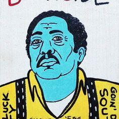 R.L. Burnside Blues Folk Art