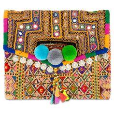 Large Banjara Clutch I Lipstick Holder, Kids Rugs, Crafts, Craft Ideas, Accessories, Art, Art Background, Manualidades, Kid Friendly Rugs