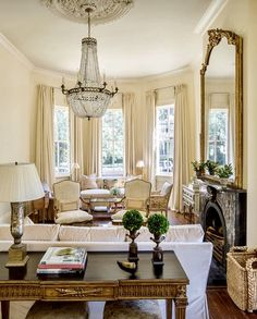 Drawing room decoration ideas modern drawing room furniture decor a elegance in neutrals drawing room modern Formal Living Rooms, Home Living Room, Living Room Decor, English Decor, New Orleans Homes, Beautiful Interiors, Traditional House, Decoration, Family Room
