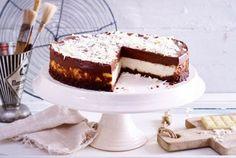 Mousse au Chocolat-Käsekuchen Rezept | LECKER