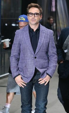Robert Downey Jr. Travels With Massive Security Detail and Entourage for 'Avengers: Age of Ultron' - Paranoid?