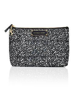 Large Rhinestone Cosmetic Bag - Victoria's Secret - Victoria's Secret JF-326-832 $40.50