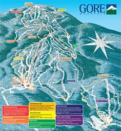 Request a Gore Mountain vacation planner by mail that includes our trail map! Ski Mountain, Mountain Trails, North Creek, Mountain Pictures, Adirondack Mountains, Winter Fun, Winter Gear, Mountain Vacations, Vacation Planner