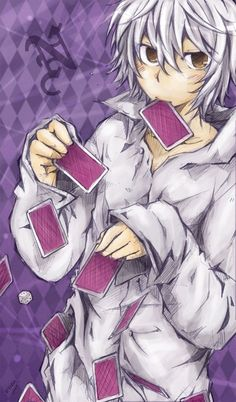 H-Hello? I'm Gray. Im a pretty good magician, but I'm only 13. I guess I'm a little shy, but only when I'm out of my element.
