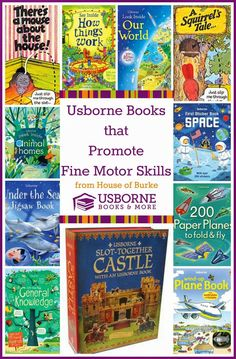 Usborne Books that Promote Fine Motor Skills - House of Burke