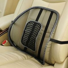 Free Shipping Hot Sale Comfortable Mesh Chair Relief Lumbar Back Pain Support Car Cushion Office Seat Chair Black Lumbar Cushion *** For more information, visit image link.