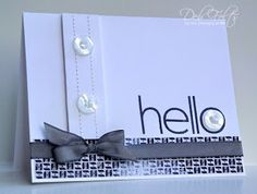 With a Stamp and a Song: hello