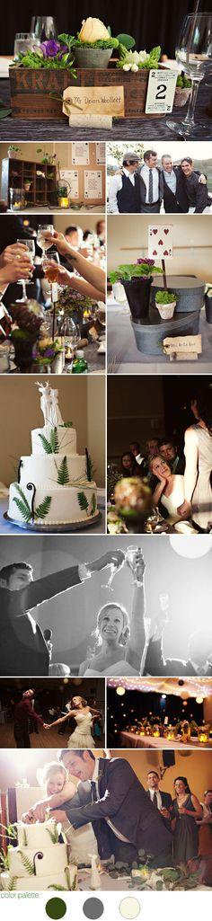 Northwest Themed Wedding