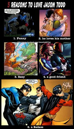 Jason Todd 5 reasons to love him by Jasontodd1fan