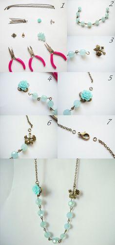 diy, nyaklánc, diy necklace