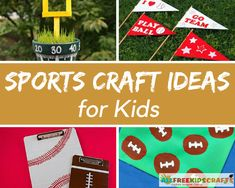 Sports Arts and Crafts for kids