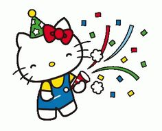 The perfect HelloKitty Celebrate HappyBirthday Animated GIF for your conversation. Discover and Share the best GIFs on Tenor. Hello Kitty Birthday Cake, Happy Birthday Fun, Cat Birthday, Hello Kitty My Melody, Hello Kitty Pictures, Kitty Images, Hello Kitty Backgrounds, Hello Kitty Wallpaper, Comics