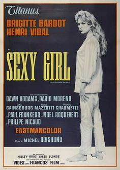 film 1959 - Voulez vous danser avec moi? - brigitte bardot
