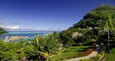 Hilton Bora Bora Nui Resort and Spa, French Polynesia - Hillside's Lagoon View