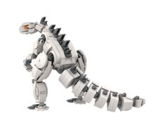 LEGO Mechazilla (Robot Godzilla) - building instructions and parts list. Lego Batman, Lego Dino, Lego Robot, Robots, Lego Minecraft, Lego Moc, Lego Technic, Amazing Lego Creations, Godzilla Vs