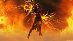 Magic: The Gathering - Chandra Nalaar Red Heat by deltaraen