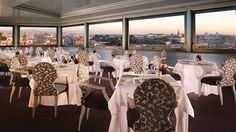 Rome - Hotel Eden has one of the best views in Rome located in the posh Via Veneto.  Terrazadeleden
