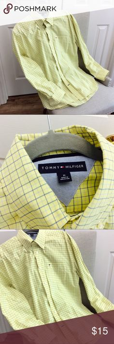 Men's Tommy Hilfiger 100% Cotton  Shirt size M Very good condition, see the pictures Tommy Hilfiger Shirts