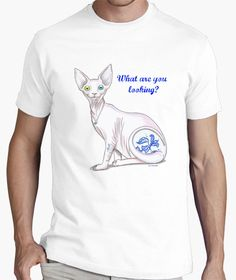 Camiseta What are you looking?