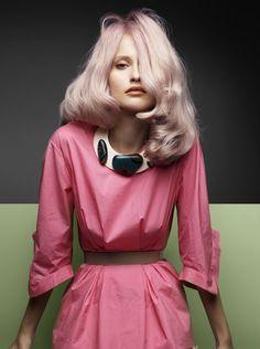 "Valerija Erokhina in ""Flora Plan"" By Troyt Coburn For Vogue Australia, May 2009"