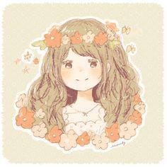 Momochy Kawaii Cute, Kawaii Girl, Strawberry Desserts, Mori Girl, Life Planner, Anime Chibi, Studio Ghibli, Manga Art, Japanese Art