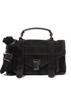 8ccedda2b352eb PROENZA SCHOULER The Ps1 Mini Suede Shoulder Bag. #proenzaschouler #bags #shoulder  bags