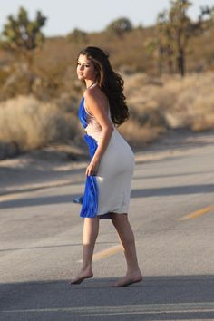 Selena Gomez ♥, on the set of a video shoot (March 5, 2013), in Palmdale, California.