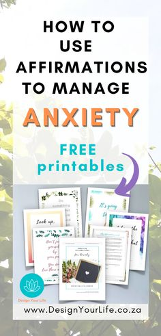 Affirmations For Anxiety, Affirmations For Women, Positive Affirmations, Social Anxiety, Stress And Anxiety, What Causes Anxiety, Best Self Help Books, Mental Health Recovery, Understanding Anxiety