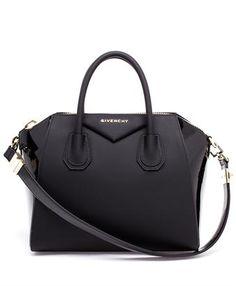 GIVENCHY - Small Rubberised Antigona Bag