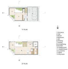 House in Otori / Arbol Design