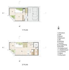 House plan title block