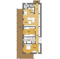 House plans - choose your house by floor plan One Floor House Plans, Apartment Floor Plans, Facade House, Bungalows, Decoration, Home Projects, Cottages, Planer, My House