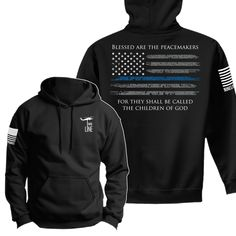 Nine Line Apparel - Hoodie - Thin Blue Line Police Gear, Police Officer, Police Shirts, Police Wife Life, Police Wife Tattoo, Cop Wife, Police Family, Nine Line Apparel, Support Law Enforcement